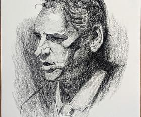 Porträt zeichnen: Tag 59 der Reise!
