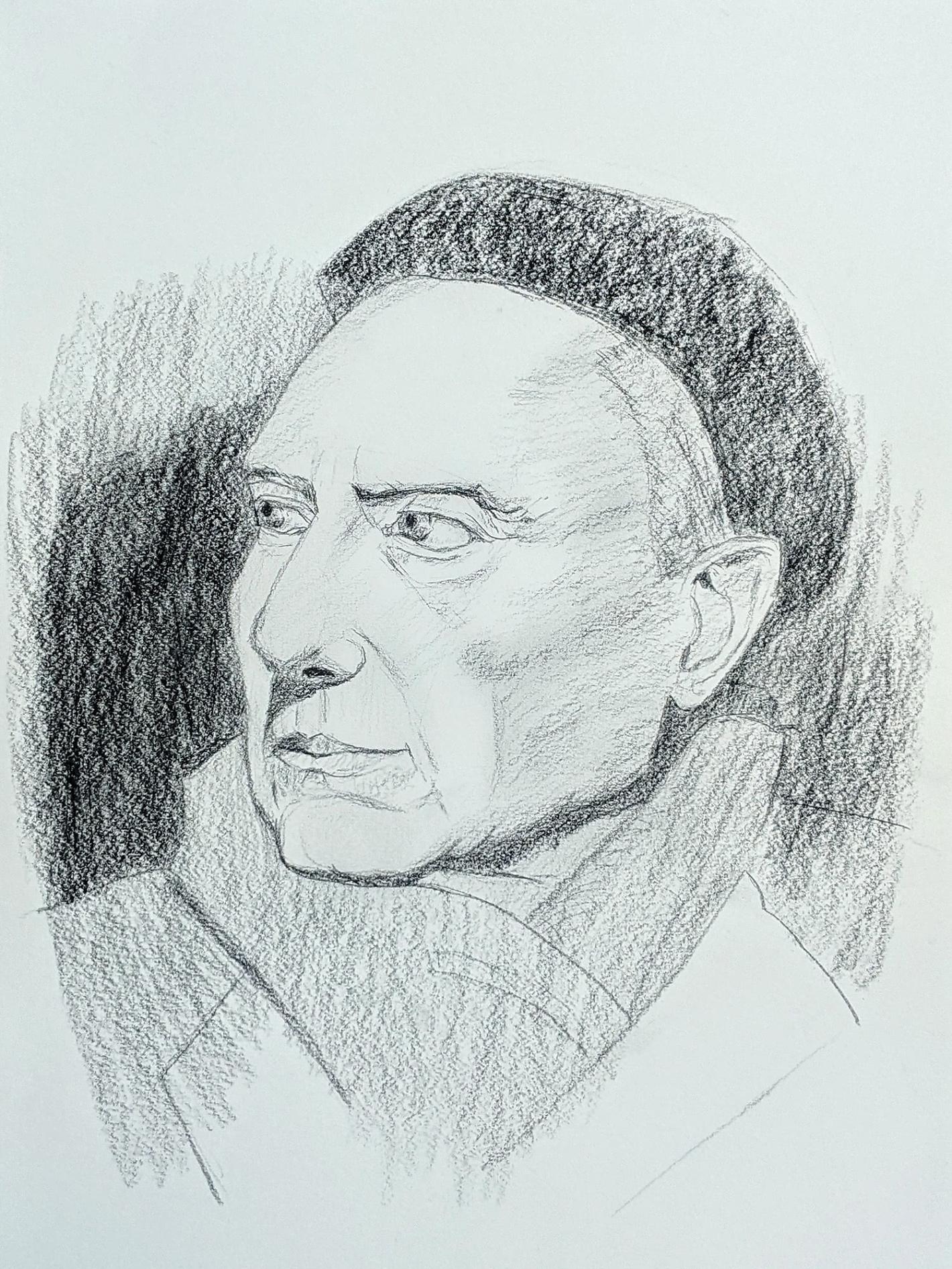 Porträtzeichnungen – Zeichenkurs Porträt Zeichnen