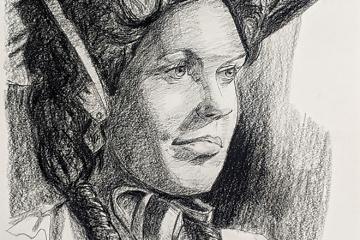 Porträt zeichnen: Tag 91 der Reise!