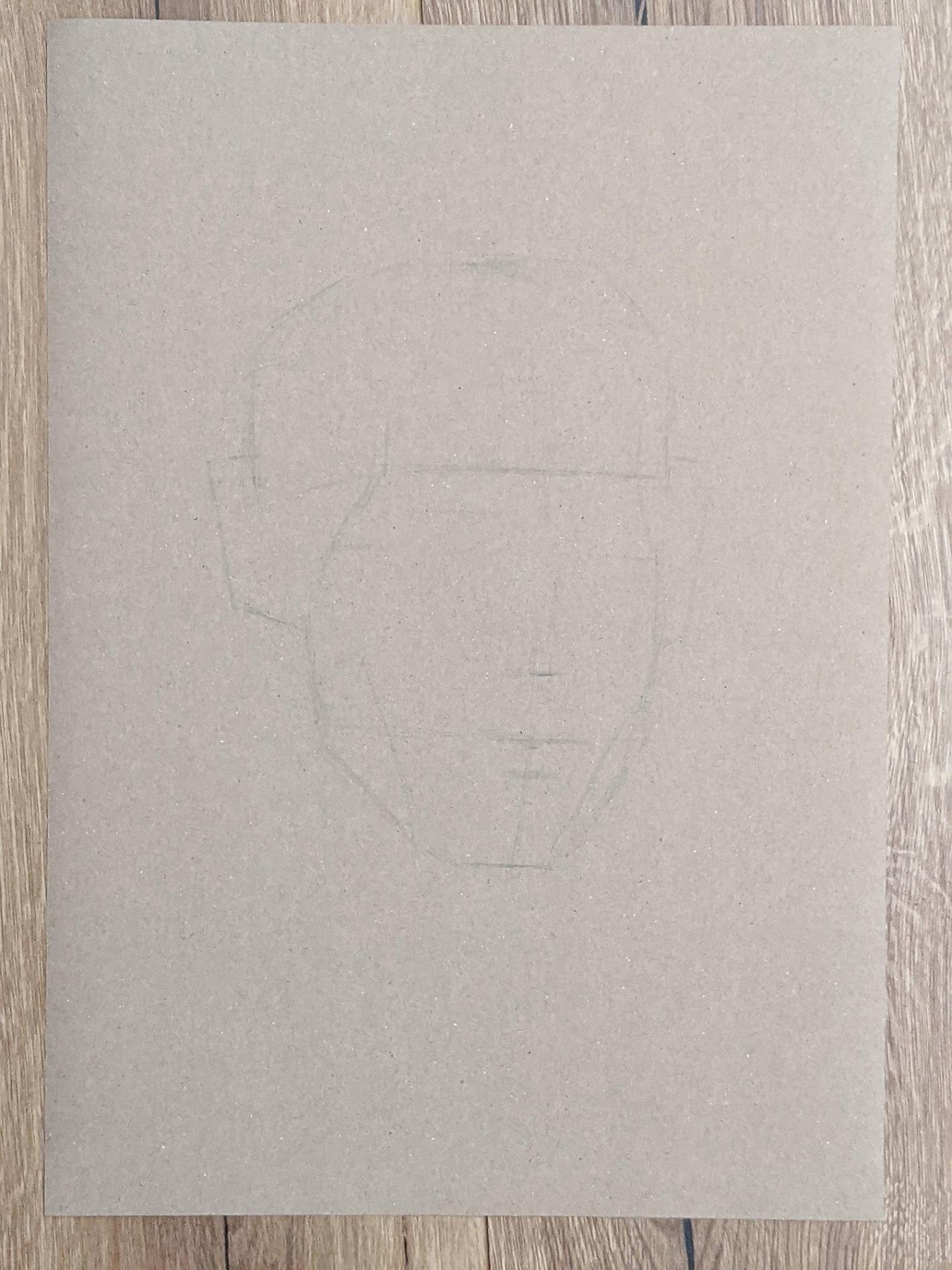 Portraitzeichnung 14.05