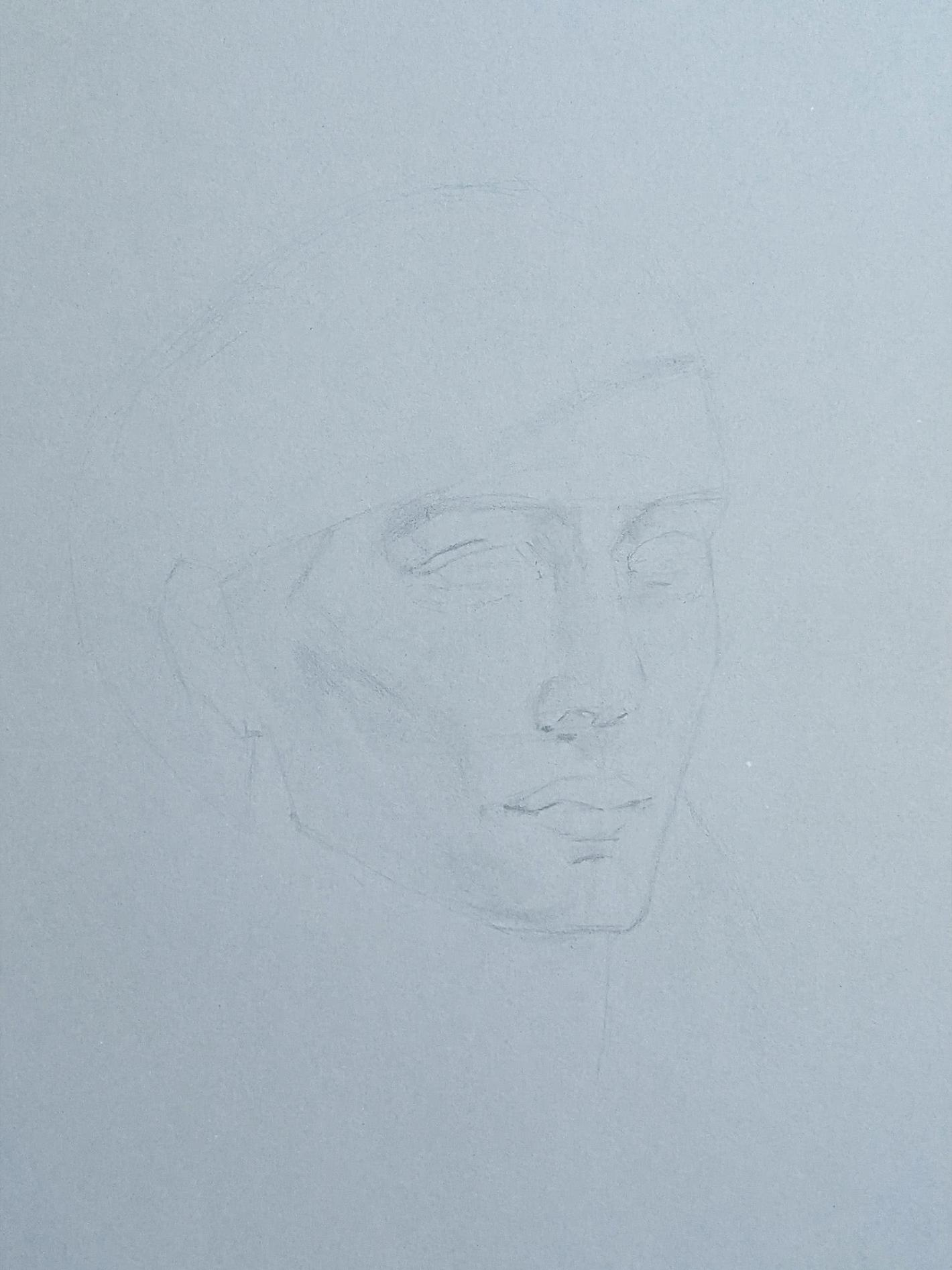 Portraitzeichnung 28.05.2021