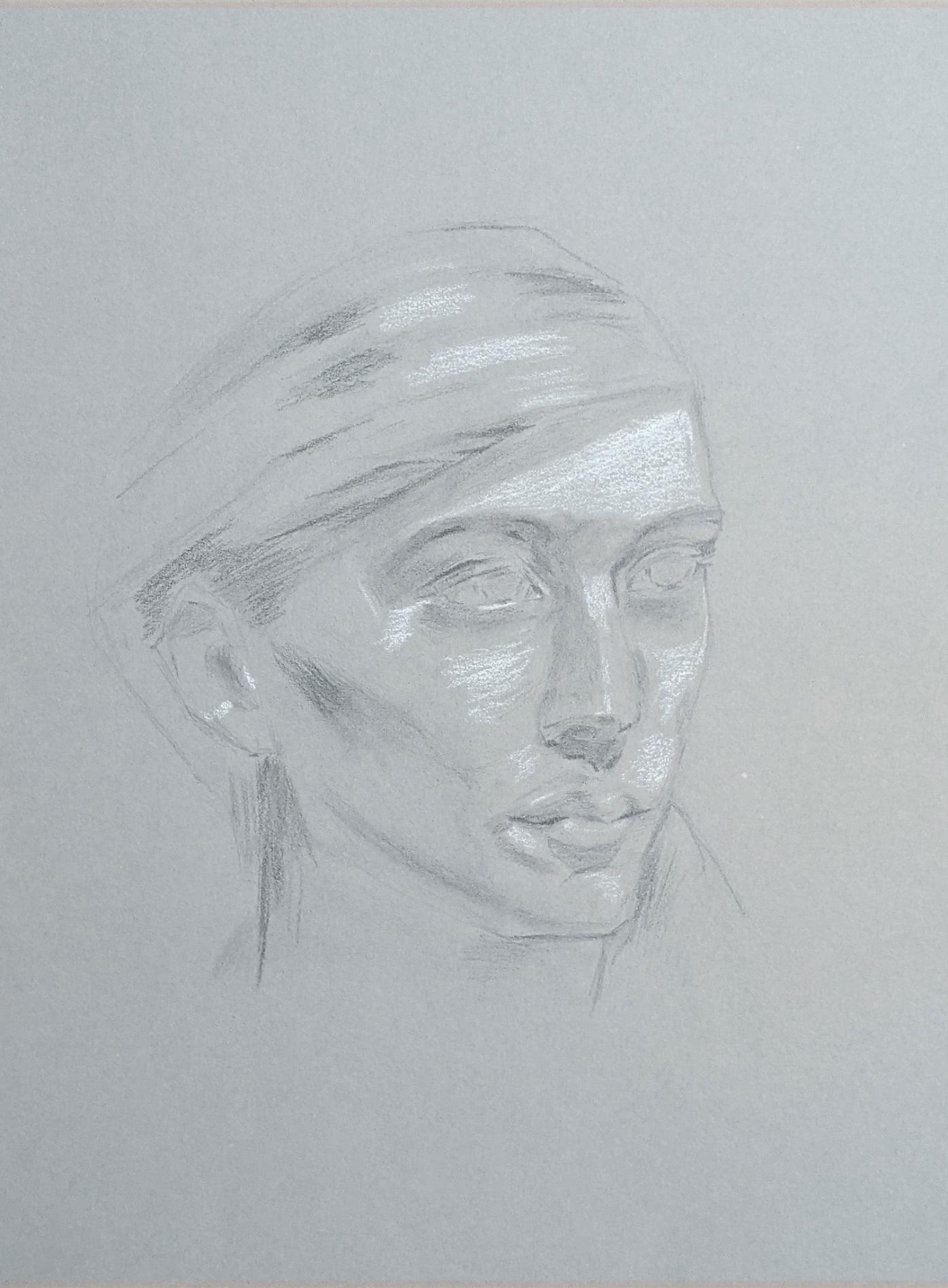Portraitzeichnung 01.06.2021