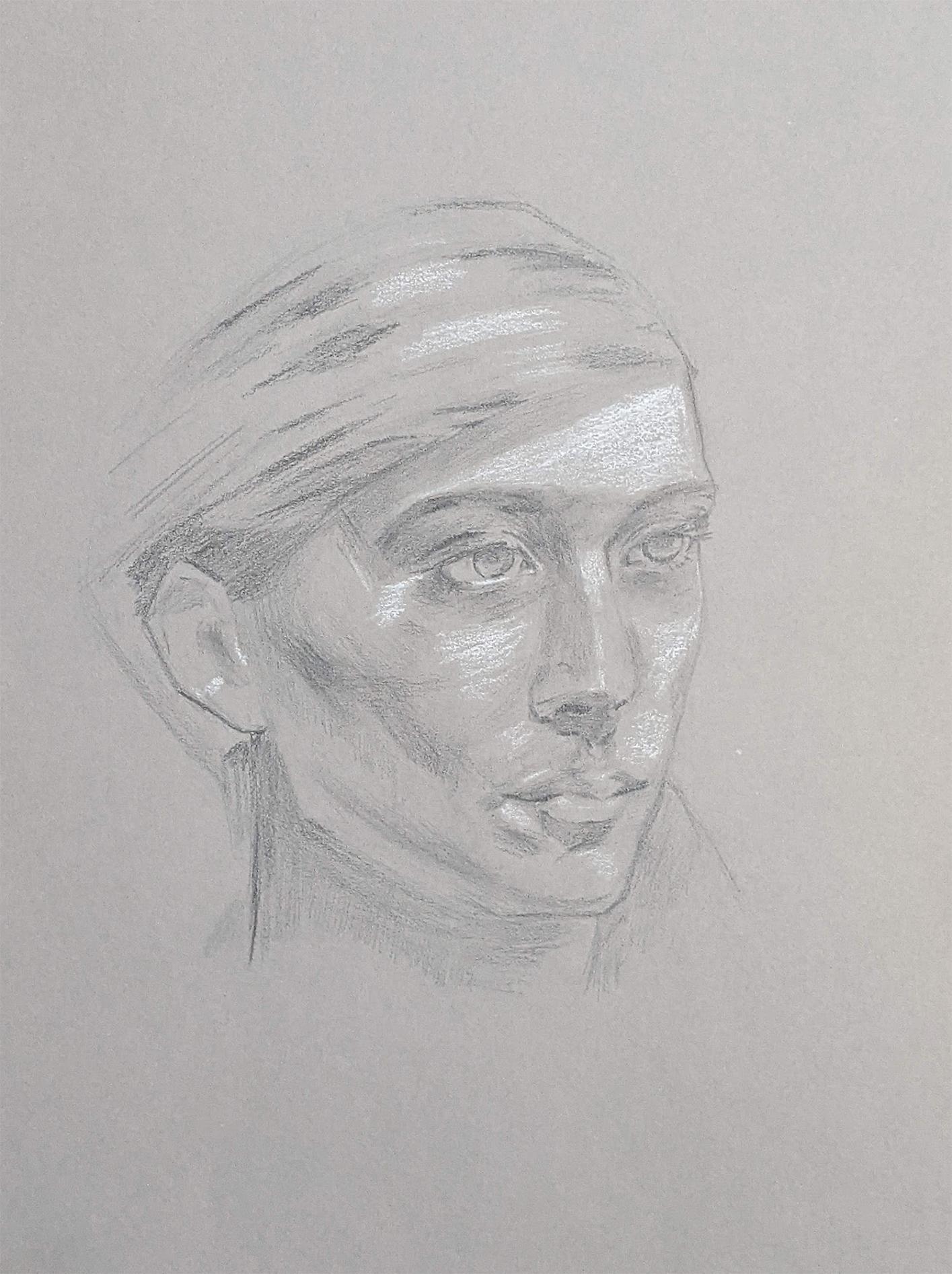 Portraitzeichnung 04.06.2021