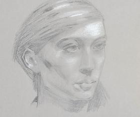 Porträtzeichnung 05.06.2021