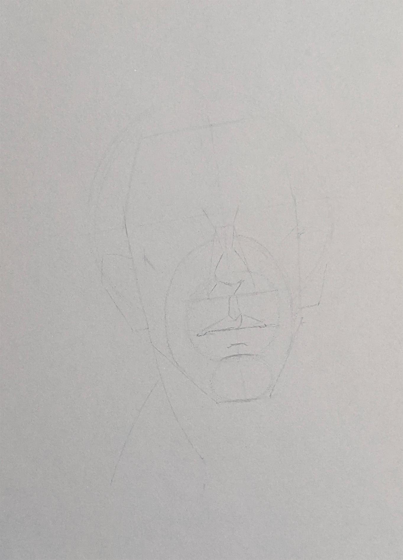 Porträt zeichnen: Tag 151