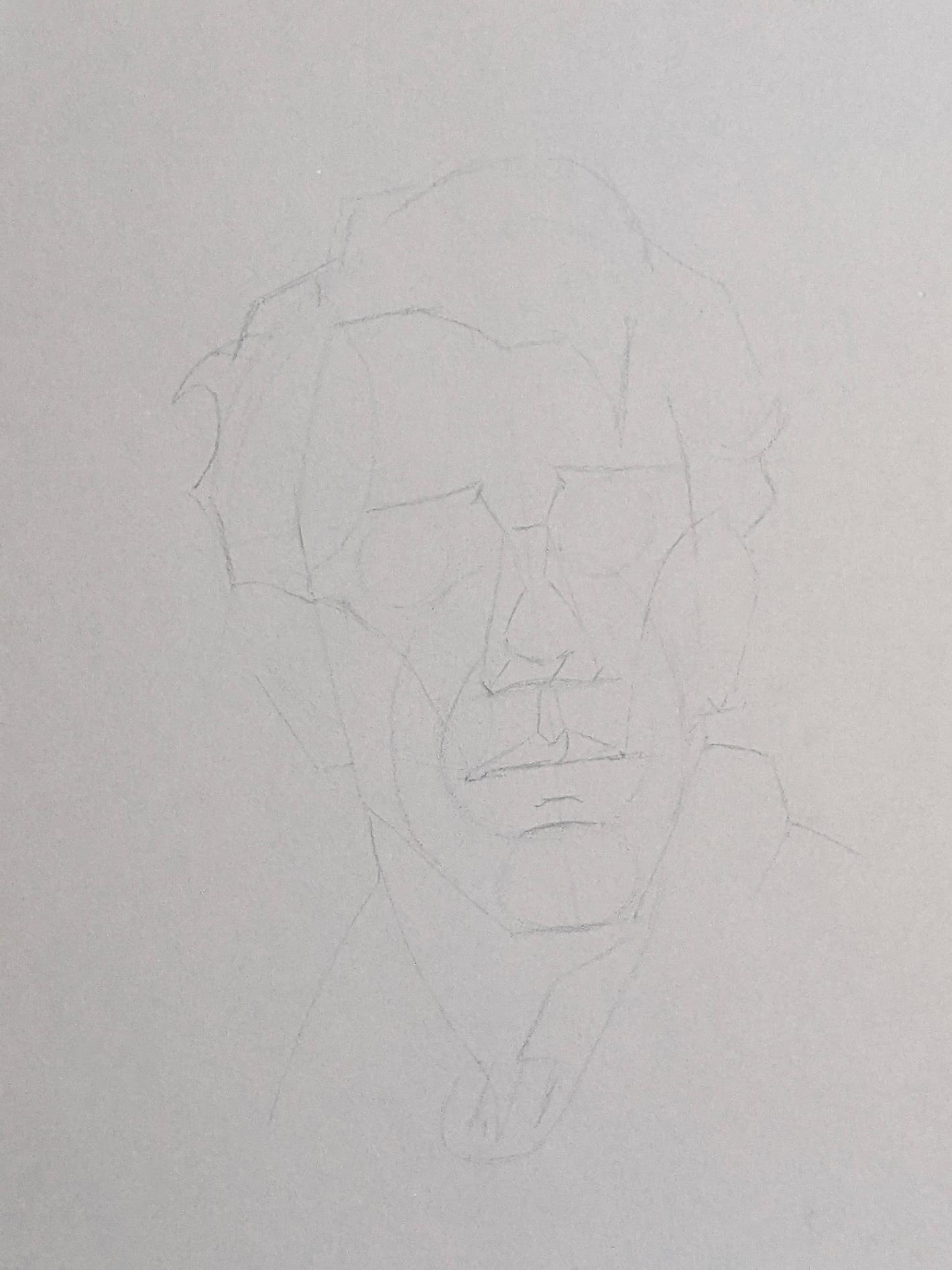 Porträt zeichnen: Tag 152