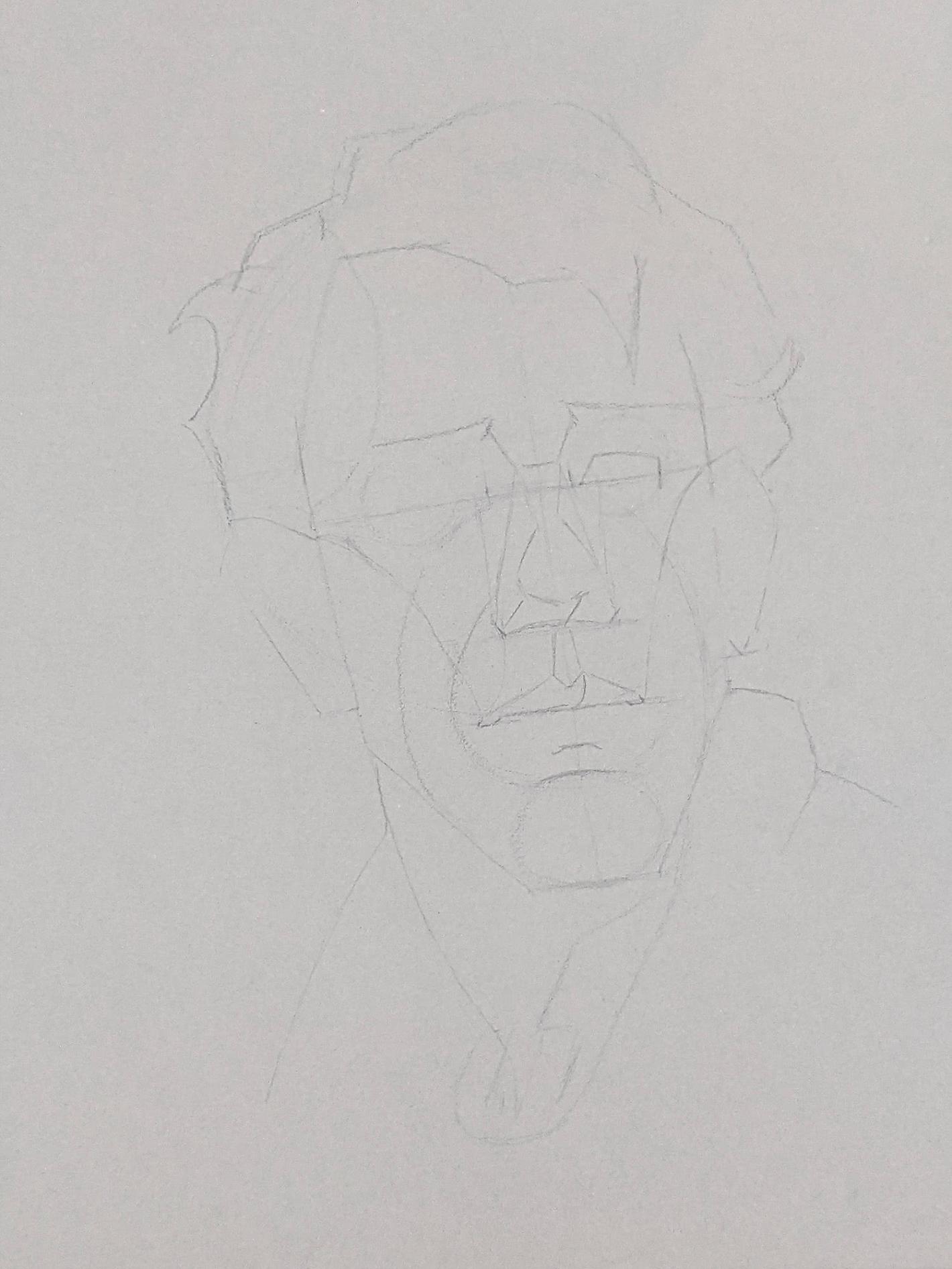 Porträt zeichnen: Tag 153