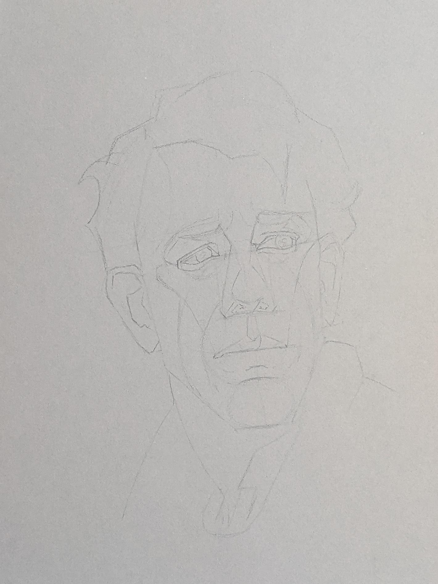 Porträt zeichnen: Tag 155