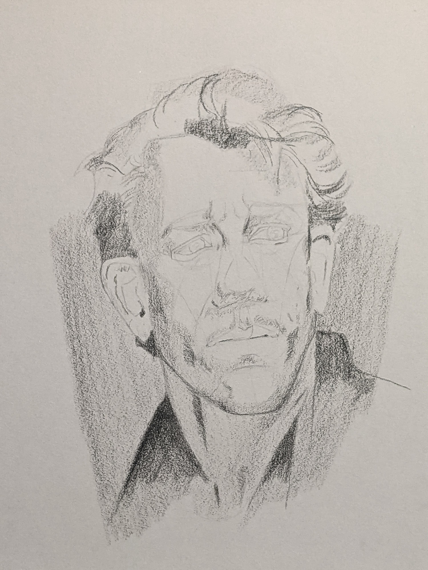 Porträt zeichnen: Tag 157