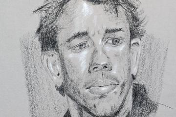 Porträt zeichnen: Tag 159 der Reise!