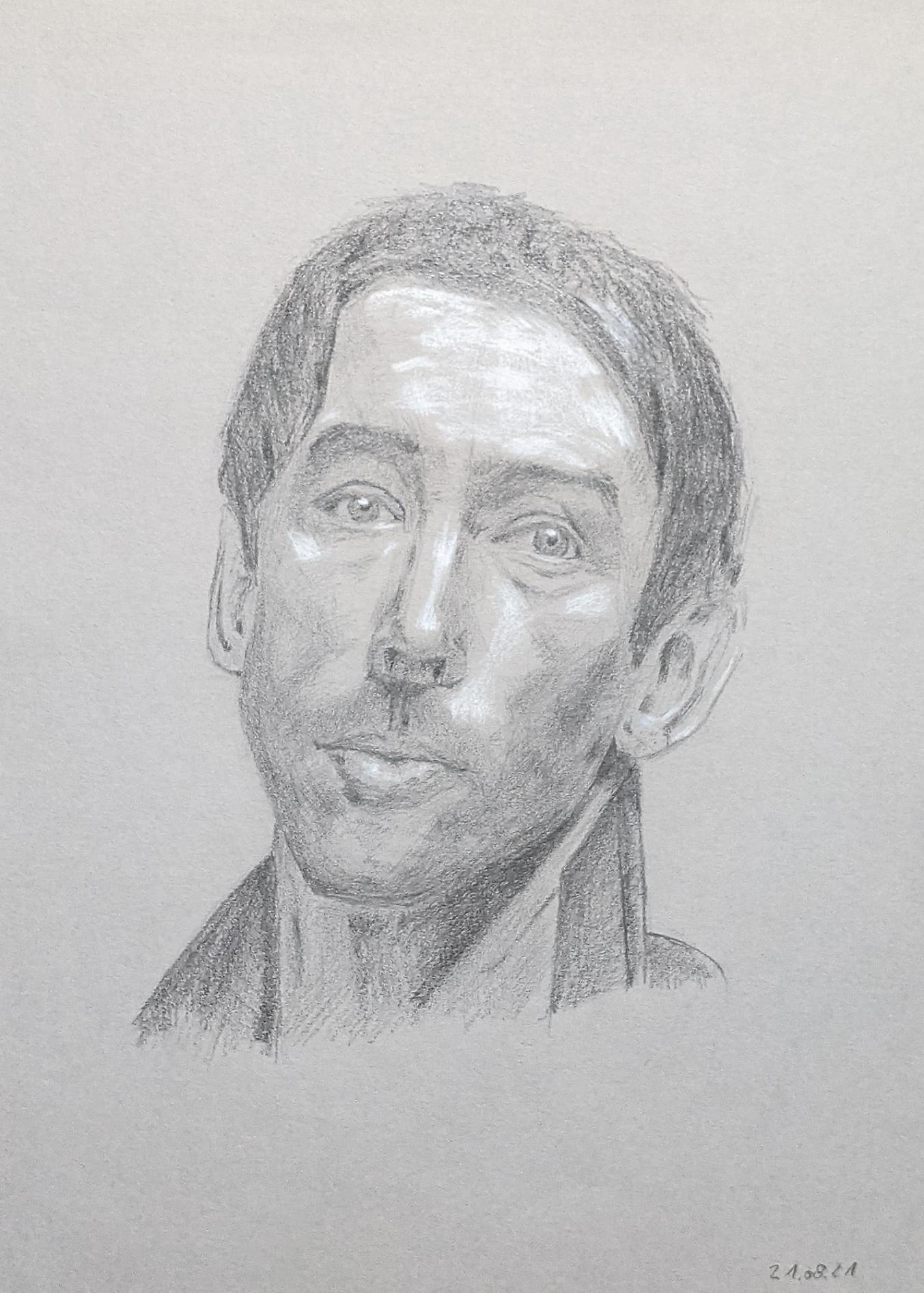 Porträt zeichnen: Tag 192