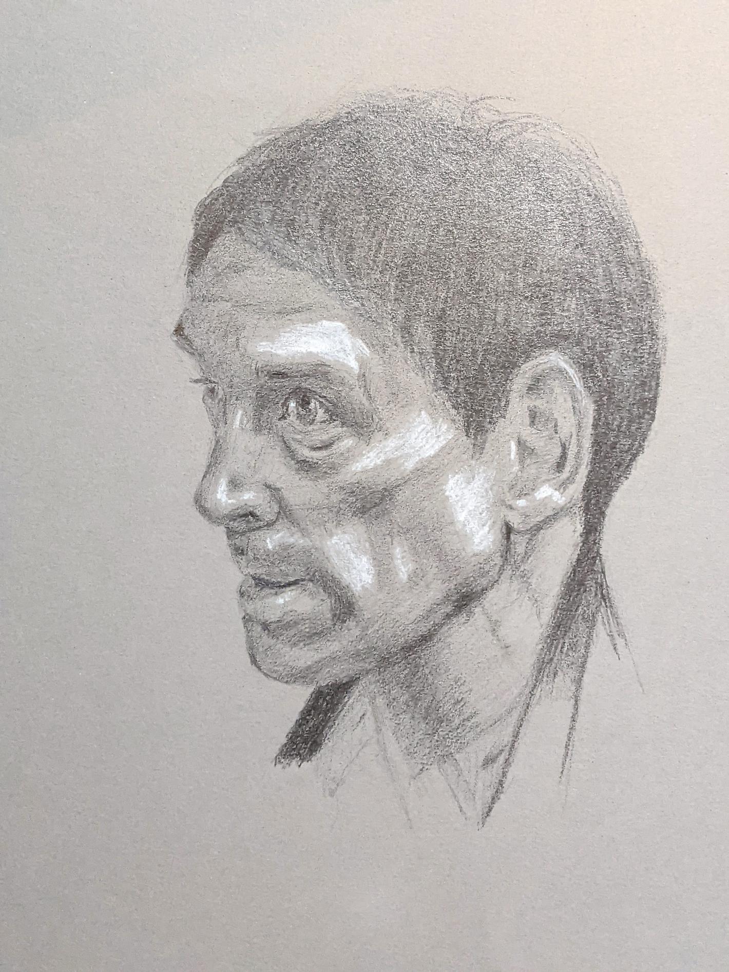 Porträt zeichnen: Tag 219
