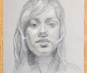 Porträt zeichnen: Tag 235 der Reise!